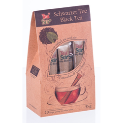 TEA STIR Schwarztee Sticks