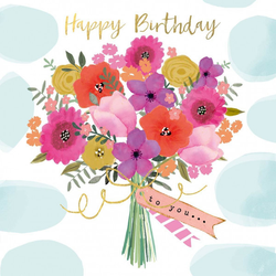 Servietten HAPPY FLOWERS(LB 33x33 cm) Design@Home