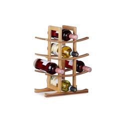 relaxdays Weinregal Weinregal für 12 Flaschen
