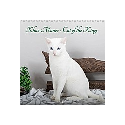 Khao Manee - Cat of the Kings (Wall Calendar 2021 300 × 300 mm Square)