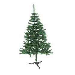 Europalms 83500107 Künstlicher Weihnachtsbaum Tanne Grün mit Ständer