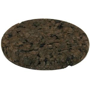 dunkle Korkuntersetzer (rund), 17,5, 72005