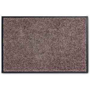 ASTRA hochwertige Schmutzfangmatte – waschbare Fußabstreifer – robust – langlebige Fußabtreter – für den Indoorbereich – Blush – 60 x 90 cm