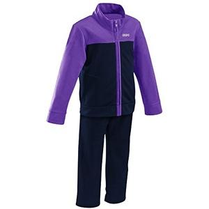 Gedo cha1201 Trainingsanzug Kinder, Azul Marino/Lila, XXS