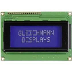 Gleichmann LCD-Display Weiß Blau (B x H x T) 87 x 60 x 13.6mm GE-C1604A-TMI-JT/R