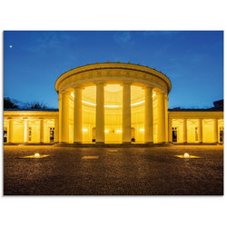 Artland Glasbild Elisenbrunnen Aachen, Gebäude (1 Stück) 80 cm x 60 cm x 1,1 cm