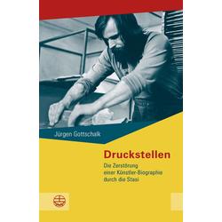 Druckstellen als Buch von Jürgen Gottschalk