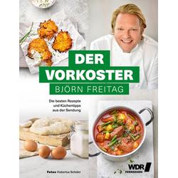 Der Vorkoster als Buch von Björn Freitag/ Anja Tanas