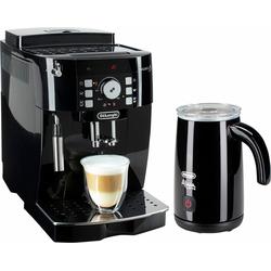 Kaffeevollautomat ECAM 21.118.B, 1,8l Tank, Kegelmahlwerk, Kaffeevollautomat, 212222-0 schwarz schwarz