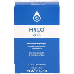 HYLO-GEL Augentropfen 20 ml