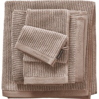 Marc O'Polo Timeless Tone Stripe Handtuch (2x50x100) beige/sand
