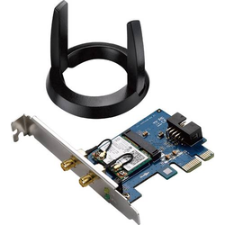Asus PCE-AC55BT WLAN Steckkarte PCIe, Bluetooth® 1.2 GBit/s