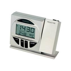TFA® digitaler Funkwecker 60.2514 silber