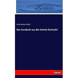 Hofmeister Adolf  - Buch