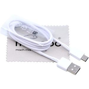 Ladekabel für Original Samsung Datenkabel für Samsung Galaxy A10e A20s A50s A51 A70s A71 A90 M30s USB Typ-C mit mungoo Displayputztuch