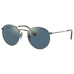 RAY BAN Sonnenbrille ROUND RB8247 grau S