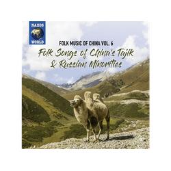 VARIOUS - FOLK MUSIC OF CHINA, VOL. 6 SONGS CHINA' (CD)