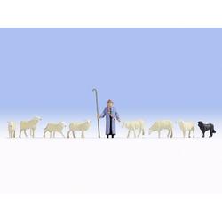 NOCH 15748 H0 Schafe und Schäfer