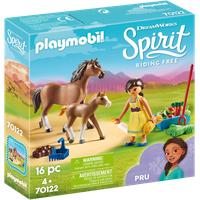 Playmobil Spirit Riding Free Pru mit Pferd und Fohlen (70122)
