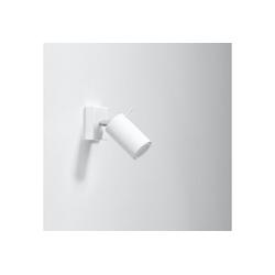 Licht-Erlebnisse Wandstrahler ETNA Wohnzimmer Spot Weiß moderner Strahler Flur 4er Spot Lampe