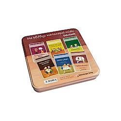 Die pfiffige Kartenspiel-Kiste Deutsch - Buch