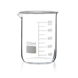 BECHERGLAS hitzebestaendig 500 ml