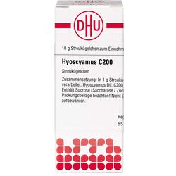 HYOSCYAMUS C 200 Globuli 10 g