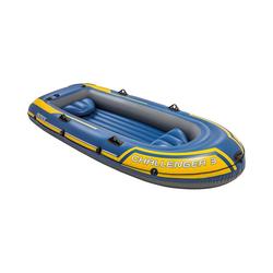 Intex Schlauchboot Schlauchboot Challenger 3 Set, 4-tlg.