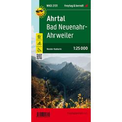 Ahrtal Bad Neuenahr-Ahrweiler Wander- und Radkarte 1:25.000