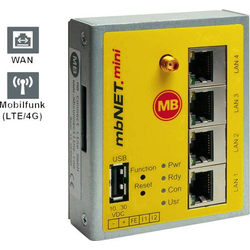MB Connect Line GmbH Industrie Router USB, LAN, 3G Anzahl Eingänge: 2 x 24 V/DC