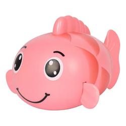 kueatily Badewannenspielzeug Kinder Karpfen Spielzeug Uhrwerk Wicklung Baby Baby Sommerbad Bad Schwimmspielzeug Badespielzeug rosa