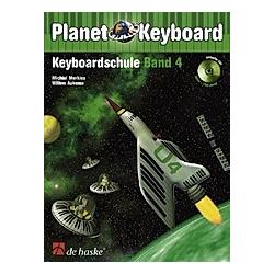 Planet Keyboard  Keyboardschule  m. Audio-CD. Michiel Merkies  Willem Aukema  - Buch