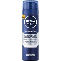 NIVEA Men Protect & Care Rasierschaum 6er Pack (6 x 200 ml