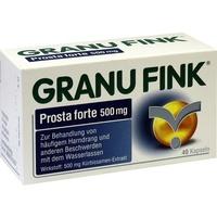 Omega Pharma Deutschland GmbH GRANU FINK Prosta forte 500 mg Hartkapseln