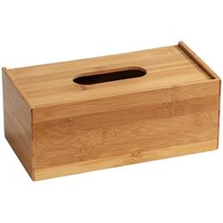 WENKO Papiertuchbox Terra (1 Stück), aus Bambus