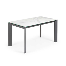 Esszimmer Tisch mit Keramikplatte Kopfauszug