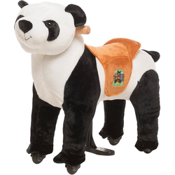 ANiMAL RIDinG Reittier Panda Tuan, XS, mit Rollen