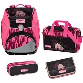 SCOUT Alpha 4-tlg. Pink Dino mit Sporttasche