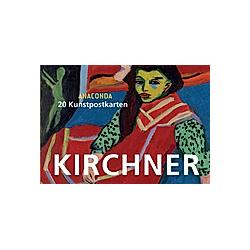 Postkartenbuch Kirchner  20 Kunstpostkarten - Buch