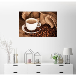 Posterlounge Wandbild, Kaffee Tasse Genuss 60 cm x 40 cm
