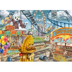 Im Freizeitpark Puzzle 368 Teile