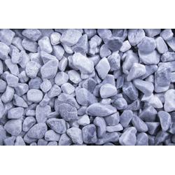 Marmor getrommelt Kristall blau 8-16 - Big Bag 30 kg