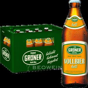 Grüner Vollbier Hell 20x0,5 l