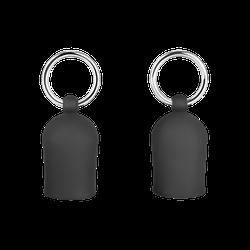 Zarte Brustpumpe aus Silikon, Größe S, 4 cm
