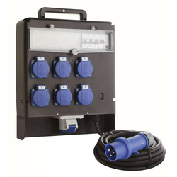 As - Schwabe CEE Stromverteiler Marktverteiler FIXO III 60523 230V 16A