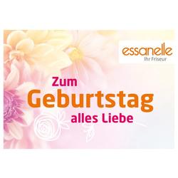 Essanelle Gutschein Trägerkarte Geburtstag