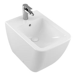 Villeroy & Boch Venticello Bidet 560 x 375 mm, bodenstehend… Weiß Alpin mit CeramicPlus