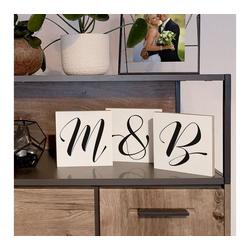 Wall-Art Deko-Buchstaben Freistehende Buchstaben & Zahlen (1 Stück)