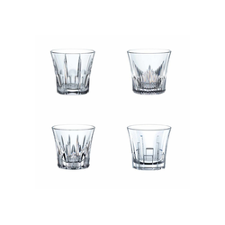Nachtmann Whiskyglas Classix SOF Whisky Becher im 4er Set (4-tlg), Glas