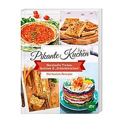 Pikante Kuchen - Buch